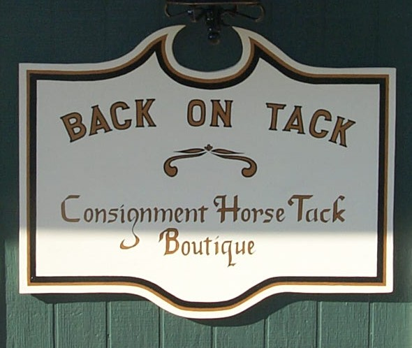 Back on Tack Sign