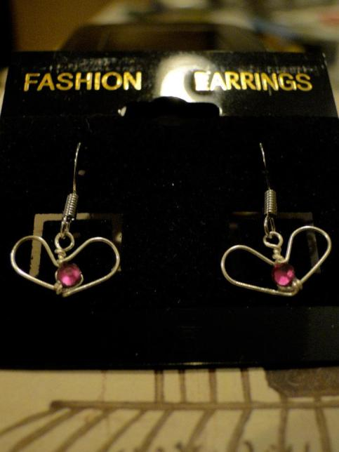 Heart Earrings by SamyStyles