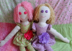 handmade dolls genevieves custom web design